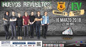 Cartel concierto Puebla