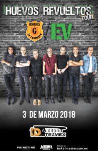 Cartel concierto Guadalajara