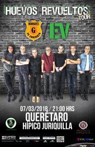 Cartel concierto Queretaro